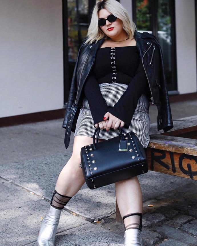 **Nicolette Mason** <br><br> **Instagram handle:** [@nicolettemason](https://www.instagram.com/nicolettemason/) <br><br> **Instagram following:** 155k <br><br> **Noteworthy achievements:** L.A.-based Mason, who started blogging in 2008, joined forces with fellow top 10 fashion influencer Gabi Gregg to launch Premme, a plus-size apparel line, in 2017.
