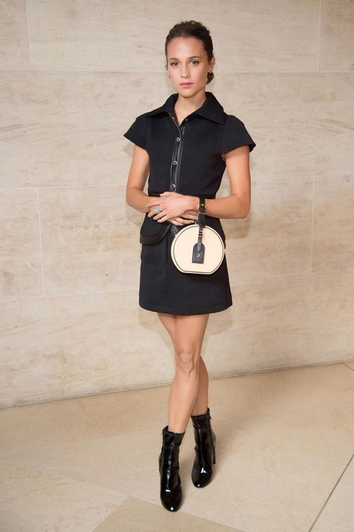 Alicia Vikander at Louis Vuitton spring summer '18