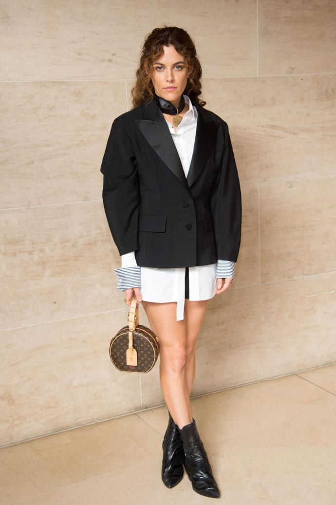 Riley Keough at Louis Vuitton spring summer '18