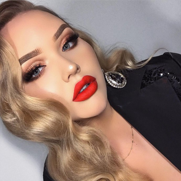 """**Nikkie de Jager** <br><br> **Instagram followers:** 8.4m, [@nikkietutorials](