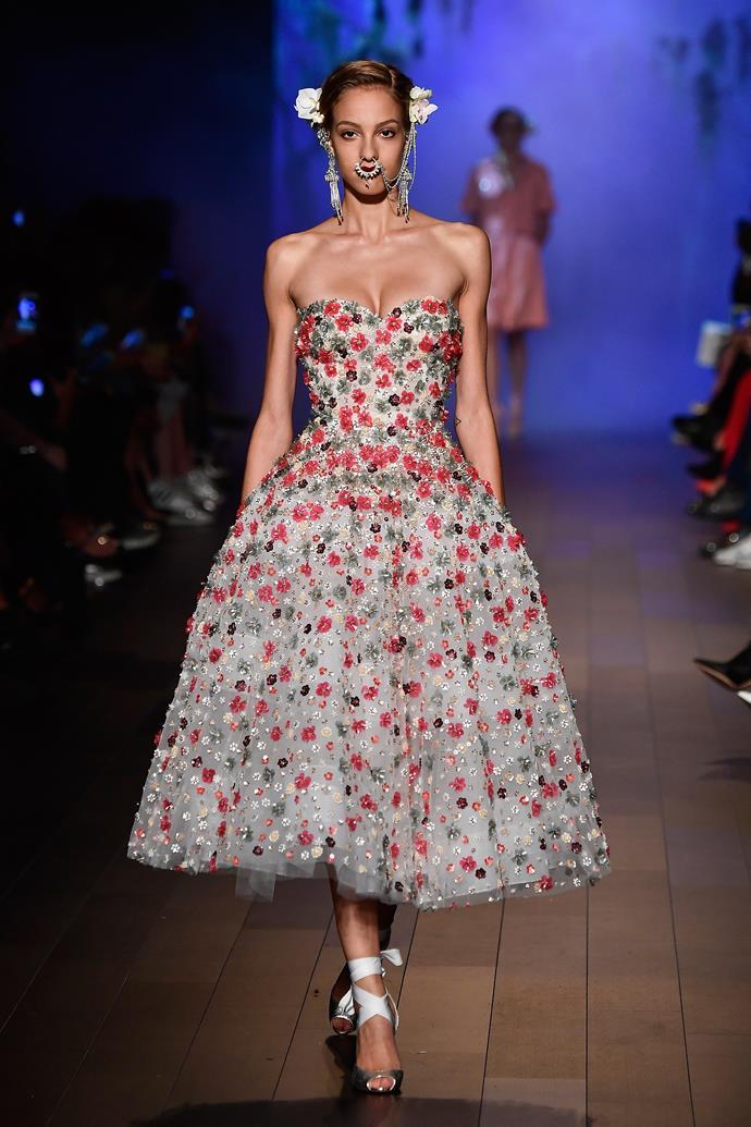 **Naeem Khan**, spring/summer '18, New York Fashion Week