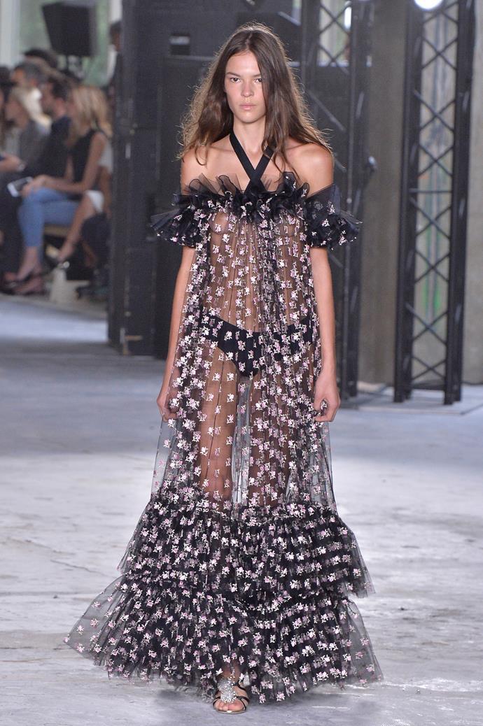 **Giambattista Valli**, spring/summer '18, Paris Fashion Week
