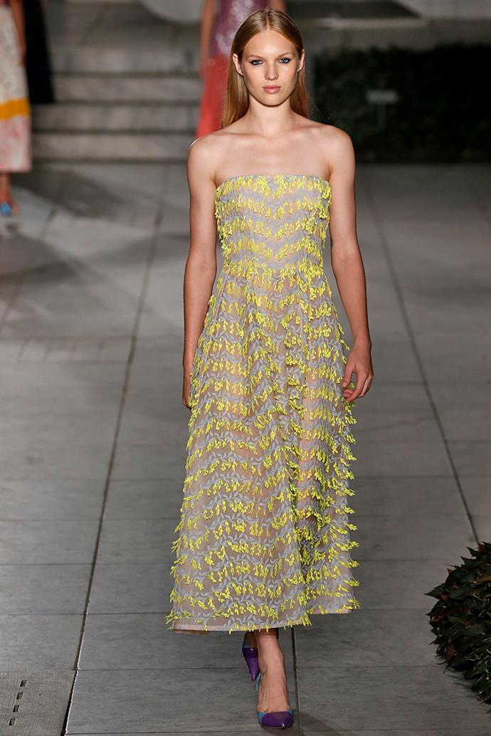 **Carolina Herrera**, spring/summer '18, New York Fashion Week