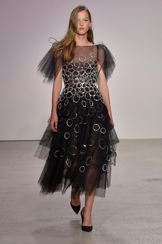 **Oscar De La Renta**, spring/summer '18, New York Fashion Week