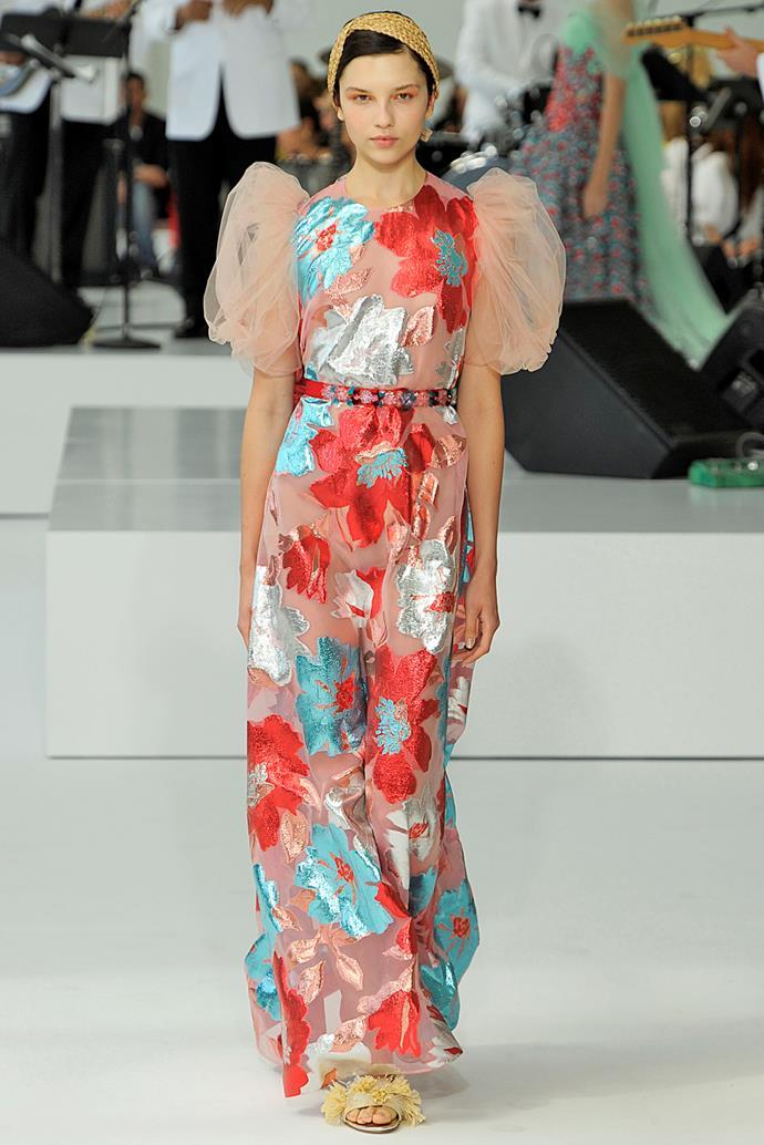 **Delpozo**, spring/summer '18, New York Fashion Week