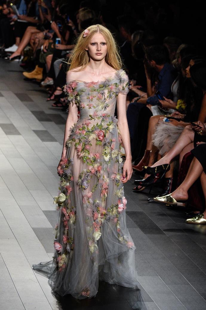 **Marchesa**, spring/summer '18, New York Fashion Week