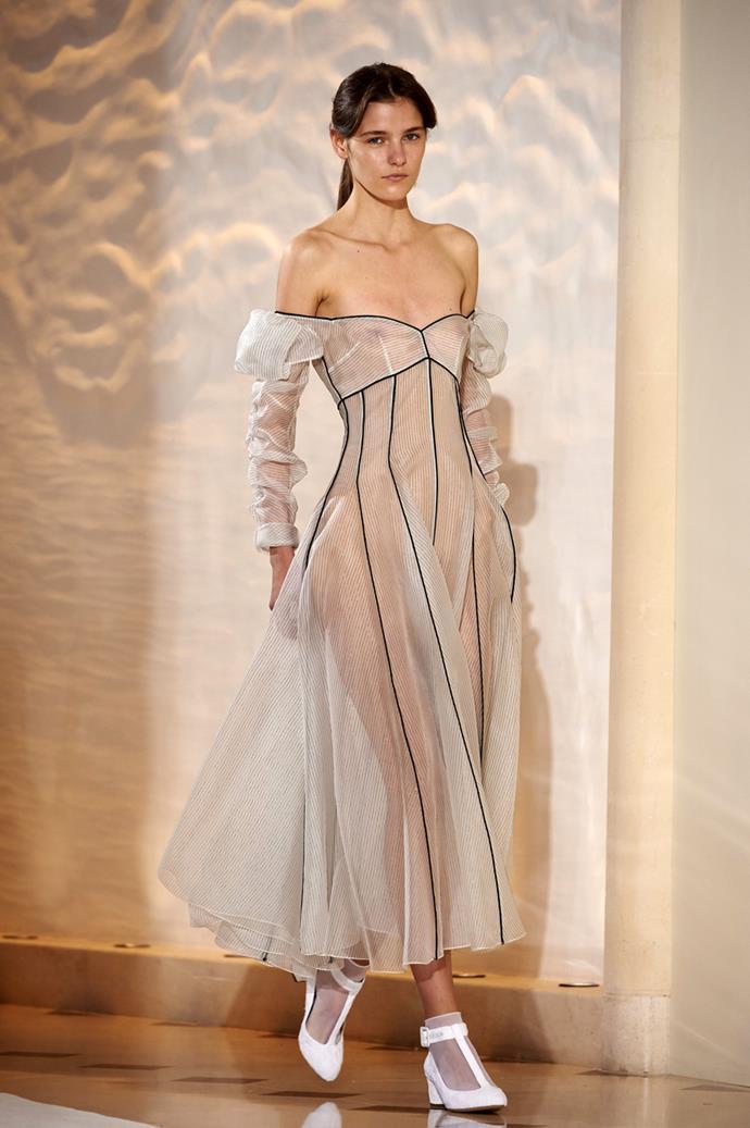 **Emilia Wickstead**, spring/summer '18, London Fashion Week