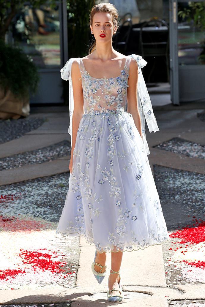 **Luisa Beccaria**, spring/summer '18, Milan Fashion Week