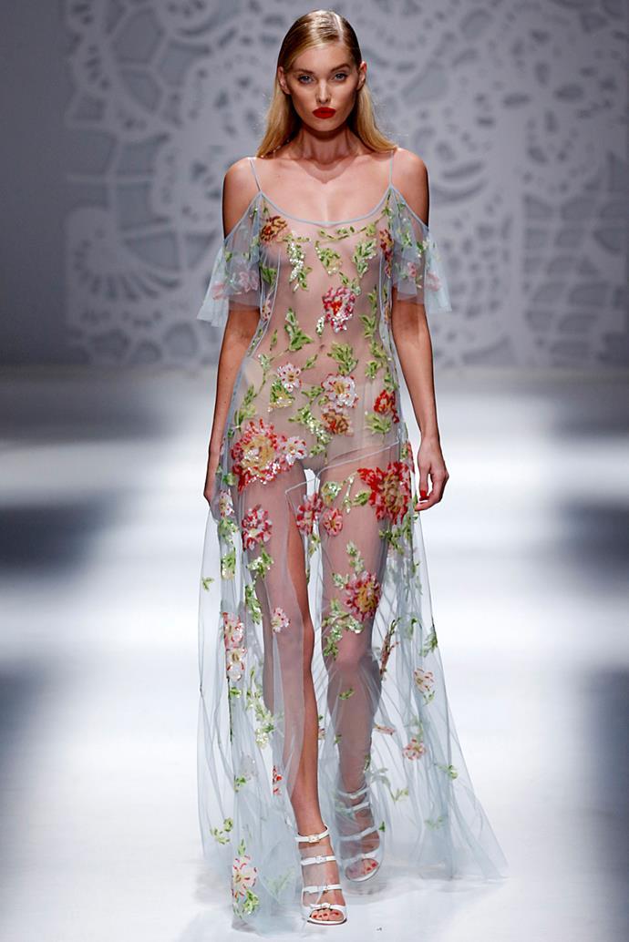 **Blumarine**, spring/summer '18, Milan Fashion Week