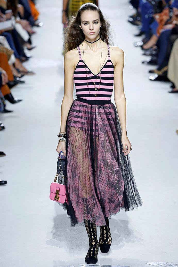 **Dior**, spring/summer '18, Paris Fashion Week