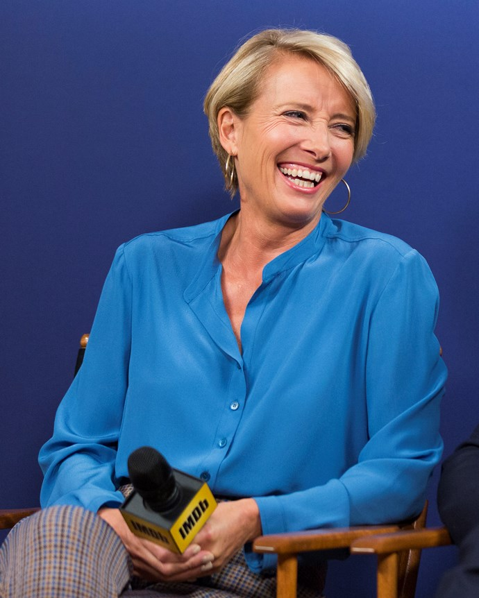 """**Emma Thompson** <br><br> According to *Vanity Fair*, Thompson told a Swedish news outlet that Trump called her in her trailer while she was filming *Primary Colours* in LA.  <br><br> Trump first asked if she'd like some accommodation in Trump Tower, before murky waters turned to crystal clear. He said to her """"I think we could have dinner some time"""", to which she hastily replied that she'd get back to him—and obviously never did.  <br><br> However, she did digress that she regrets not going just for the fun of it, and later said to *Vanity Fair* that she might have been able to have """"*done something* [to fix Trump]"""" had she gone. The probability of *anyone* being able to do that is quite low, Emma, but we guess it could have been."""