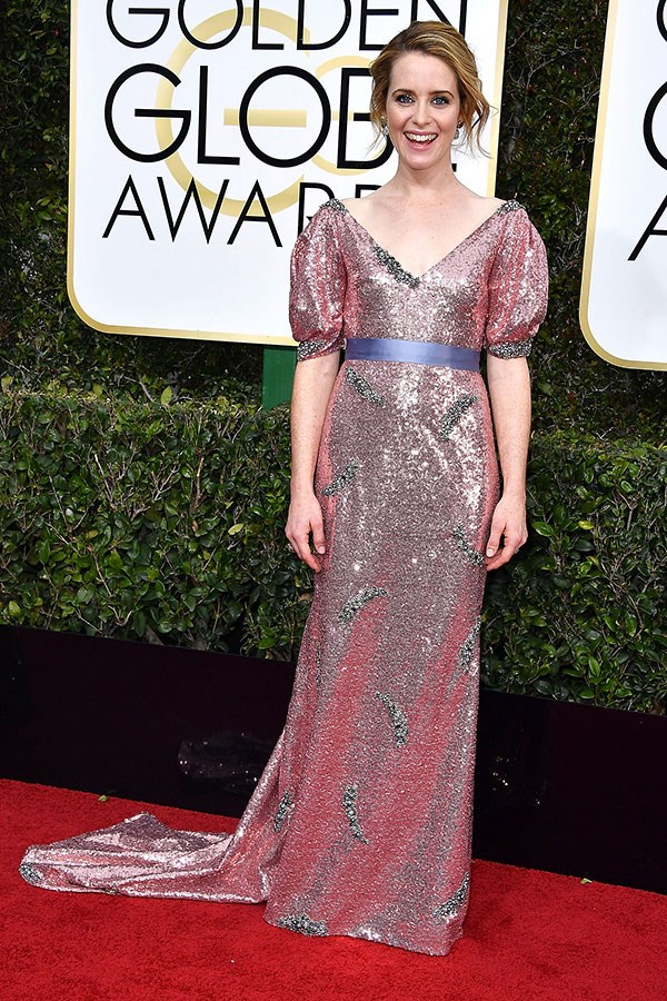 Wearing Erdem at the 74th Annual Golden Globe Awards, Beverly Hills, January 2017