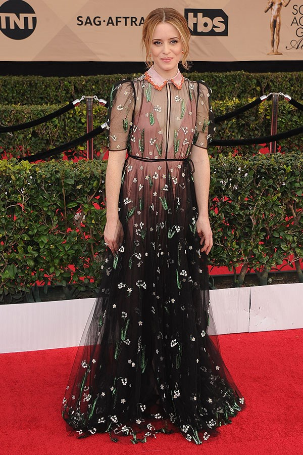 Wearing Valentino at the 23rd Annual Screen Actors Guild Awards, Los Angeles, January 2017