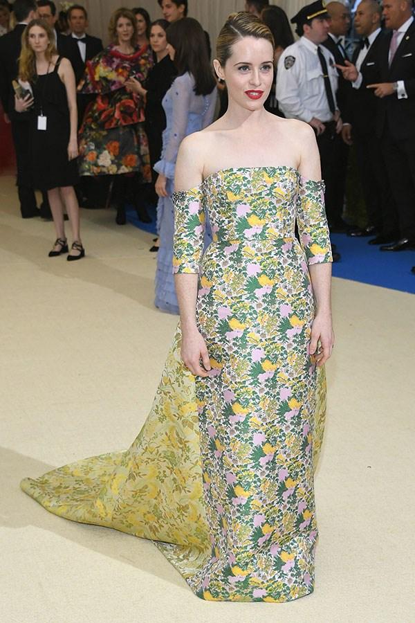 Wearing Erdem at the 2017 Met Gala, New York City, May 2017
