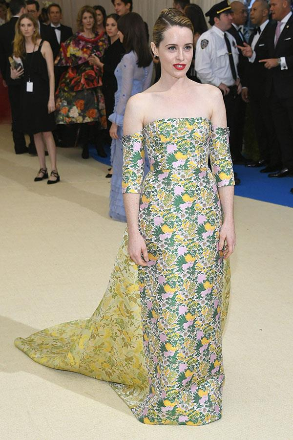 Wearing Erdem at the 2017 Met Gala, New York City, May 2017