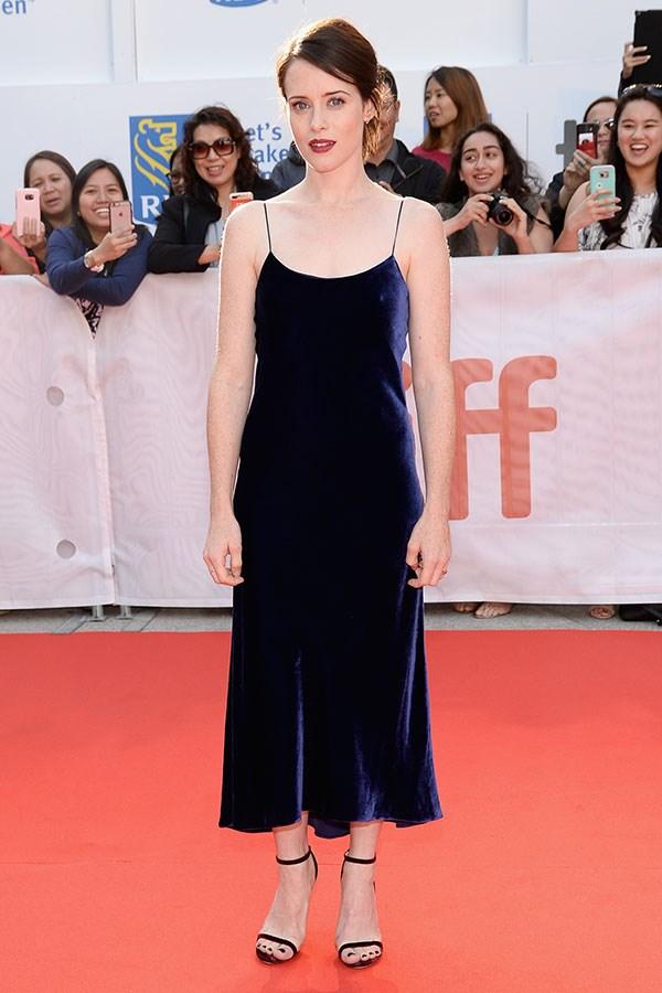 Wearing Tibi at the Toronto International Film Festival, September 2017