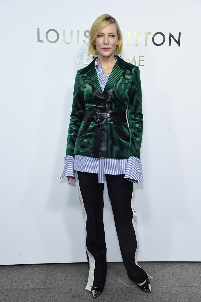 Cate Blanchett at the Louis Vuitton Maison Place Vendome opening