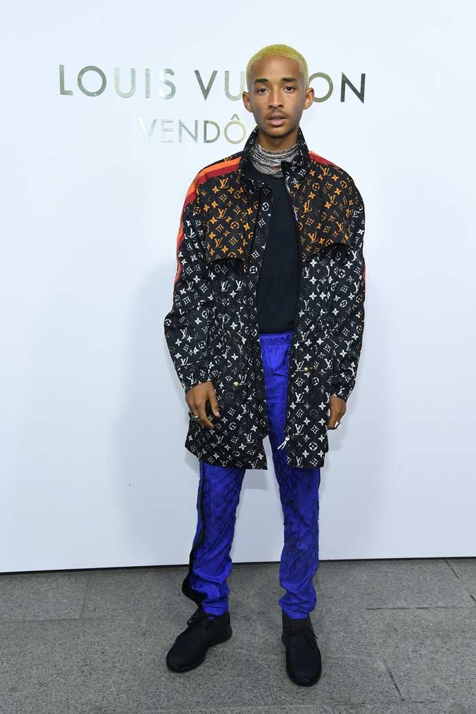 Jaden Smith at the Louis Vuitton Maison Place Vendome opening