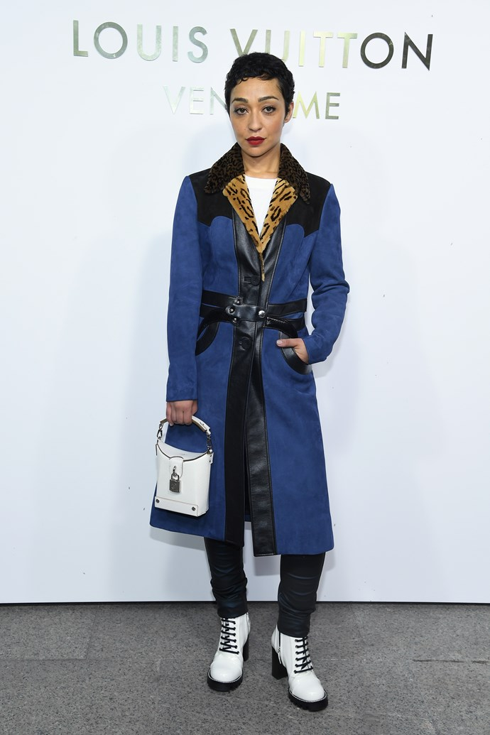 Ruth Negga at the Louis Vuitton Maison Place Vendome opening