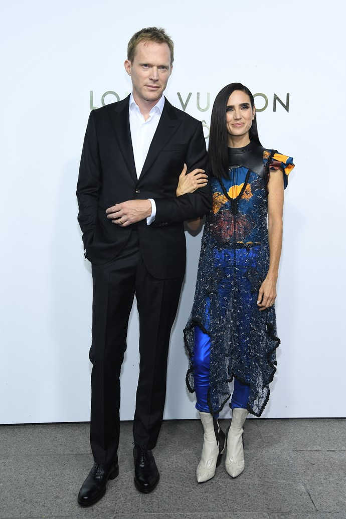 Paul Bettany and Jennifer Connelly at the Louis Vuitton Maison Place Vendome opening