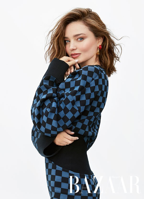 """I always had this idea that modelling is such a short-lived job, so to do it while I can and save the money while I can. Ironically, I have been doing it for 20 years... but now my priorities have shifted.""<br><br>  Miranda Kerr stars on the cover of *Harper's BAZAAR* Australia's November 2017 issue."