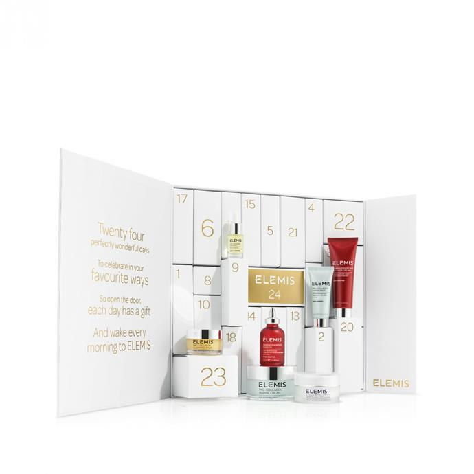 **ELEMIS Countdown To Radiant Skin Advent Calendar**, $253 from [Elemis.com](http://www.elemis.com/elemis-advent-calendar.html). <br> <br> This is the ultimate advent calendar for luxury skincare lovers. Twenty-four very special little boxes contain ELEMIS heroes and award-winners for you to discover every single day in the lead up to the Christmas Eve; when you will unveil the final gift, a full size Pro-Collagen Marine Cream.