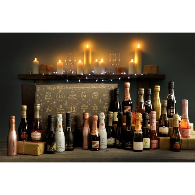 **Superstar Sparkling Advent Calendar**, $211 from [The Pip Stop](https://www.thepipstop.co.uk/gifts-c1/other-gifts-c111/advent-calendars-c81/the-pip-stop-superstar-sparkling-wine-advent-calendar-pre-order-p772?source=webgains&siteid=54264). <br> <br> This advent calendar includes a decadent mixture of 20cl bottles of white and rosé wine—giving you your Christmas fix of prosecco, cava and champagne, and adding an element of sparkle into your festive season.