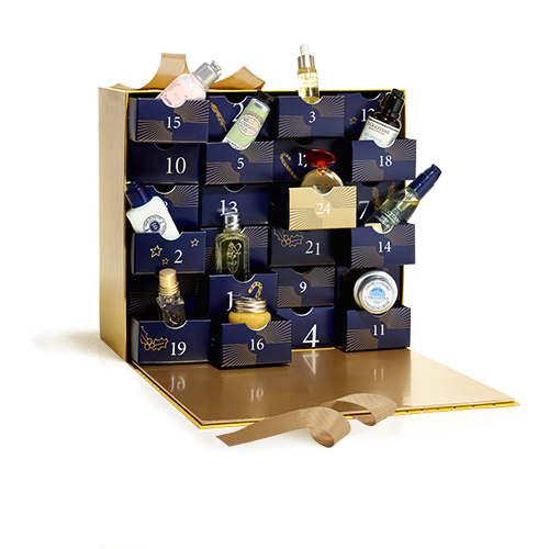 **L'Occitane Luxury Advent Calendar**, $165 from [L'Occitane](http://au.loccitane.com/luxury-advent-calendar,23,1,1236,1151134.htm). <br> <br> Discover the magic of Christmas with this captivating Luxury Advent Calendar, featuring 24 exclusive gifts for a luxurious way to beautify the countdown to Christmas Day—including Almond Shower Oil, Divine Youth Oil and Immortelle Precious Cream.
