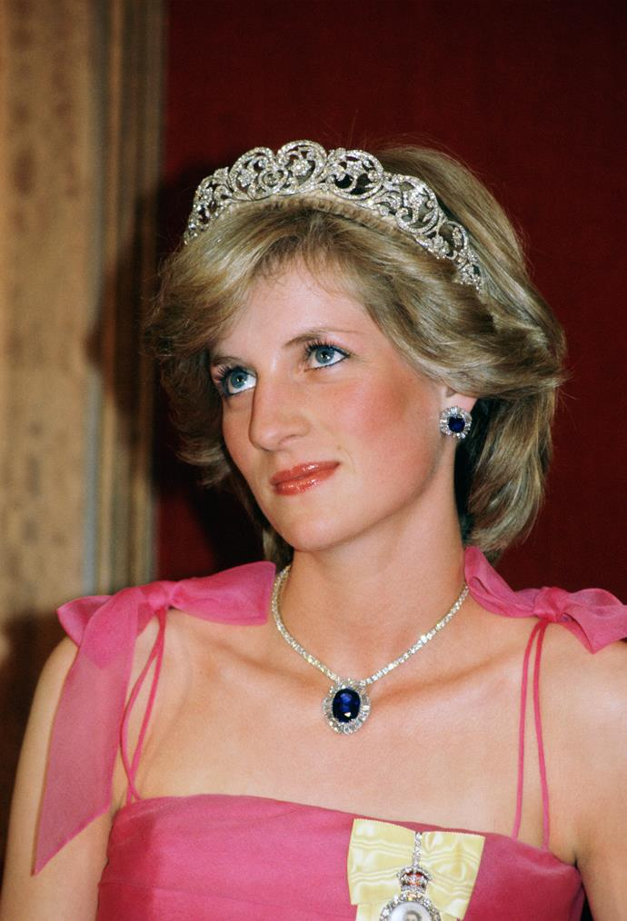 **She had her own tiara**<br><br> If any other member of the royal family wanted to wear a tiara for an event, it was required for them to take it out of the royal jewel vault as a loan—something Diana did for the Cambridge Lover's Knot, which belonged to the Queen. However, the other tiara she wore—she only ever wore two in her life—she didn't need to ask permission for, as it belonged to her. The Spencer Tiara belonged to her family, so could wear it whenever she liked, and that was reflected it how often she wore in over the Lover's Knot.