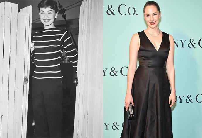 Audrey Hepburn and her granddaughter Emma Kathleen Hepburn