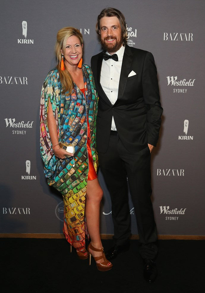 Annie and Mike Cannon-Brookes  Image: Getty