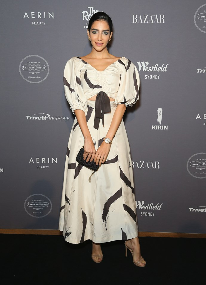 Jessica Kahawaty in Zimmermann  Image: Getty
