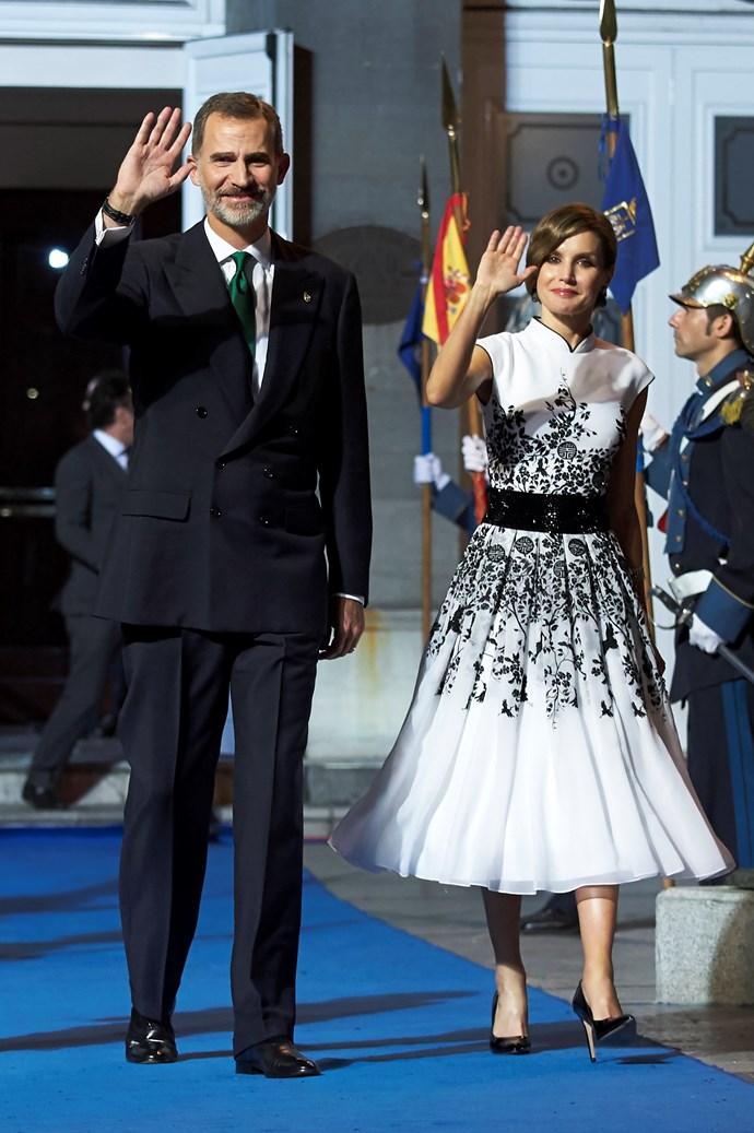 At the Princesa de Asturias Awards 2017.