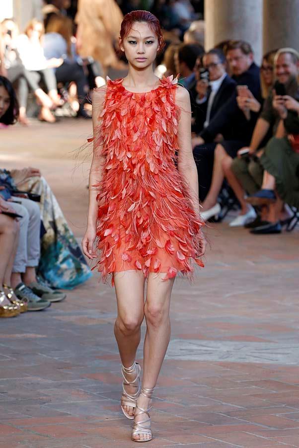 **Feathers**   Alberta Feretti spring summer '18