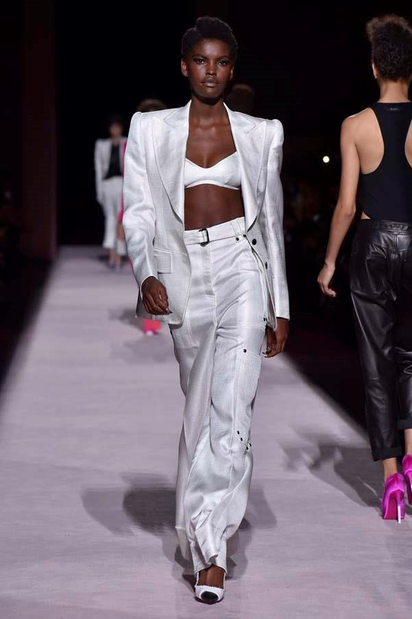 **White suits**   Tom Ford spring summer '18