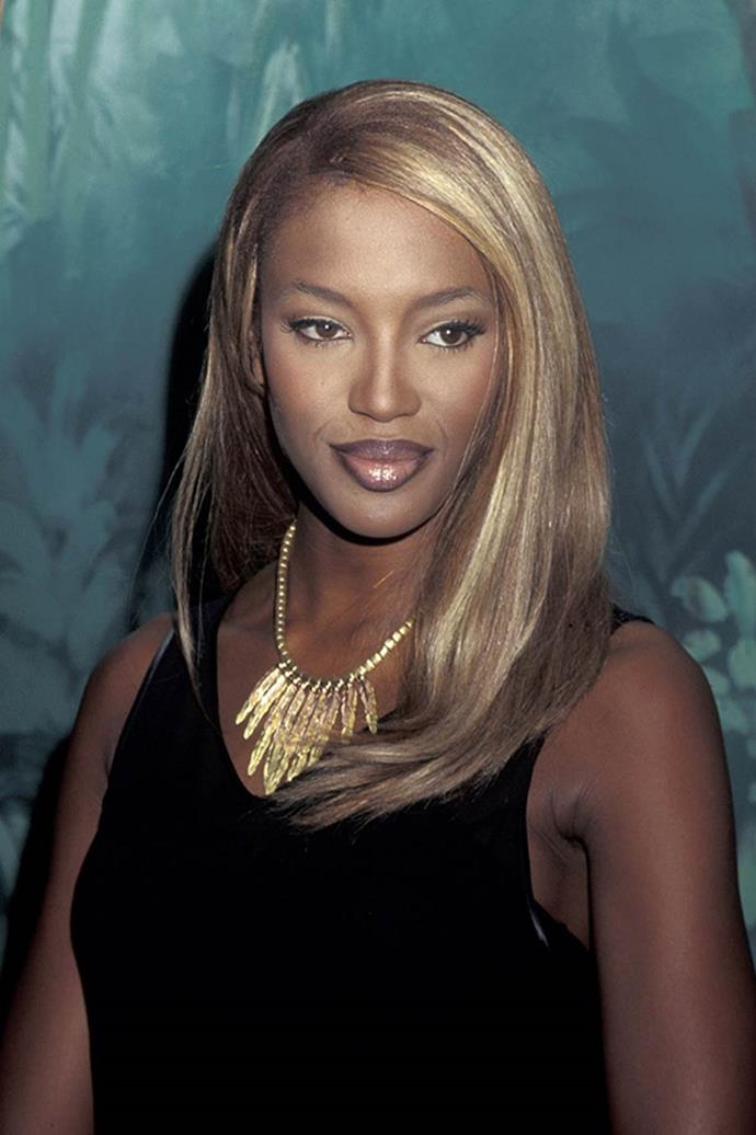 **Naomi Campbell:** The pair reportedly had a fling in 1995.