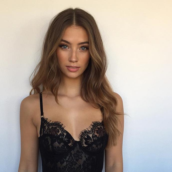 **Lorena Rae:** In August 2017 relationship rumours started swirling around Leo and this 23-year-old German model after they were spotted having lunch together. However, the biggest excitement surrounding their relationship was that the world was in shock that he wasn't dating a blonde!