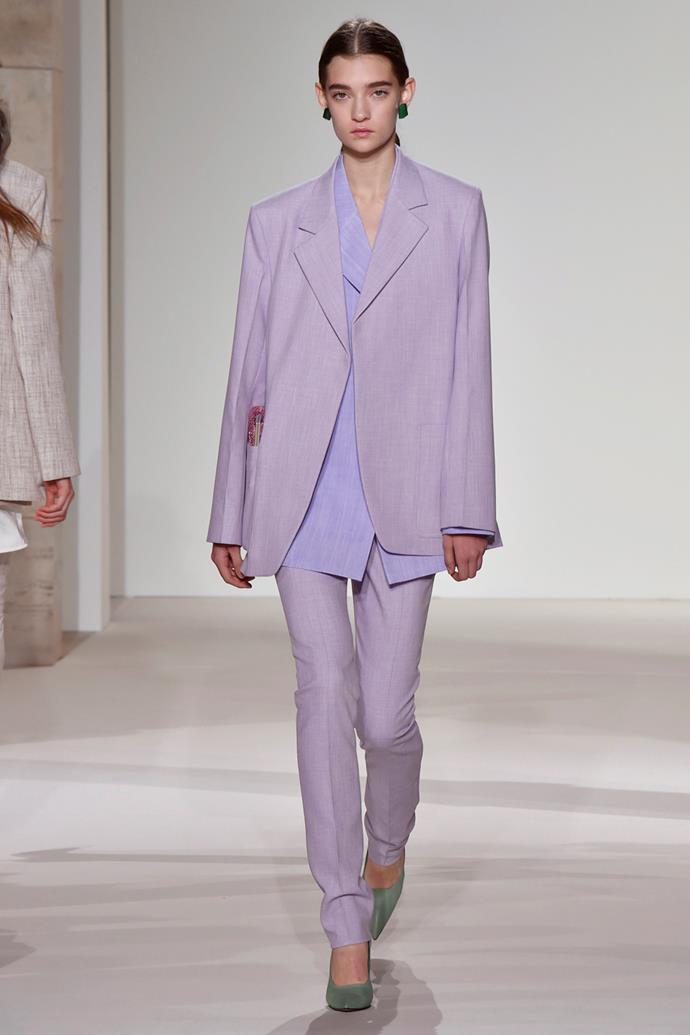 **Lilac** <br><br> Victoria Beckham spring summer '18