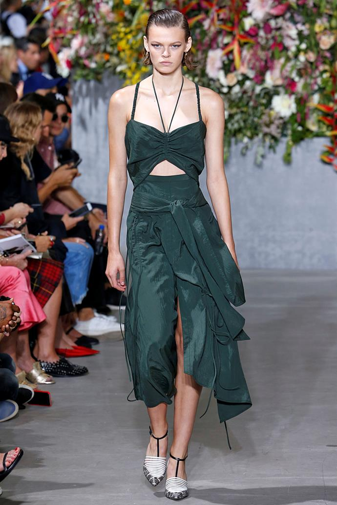 **Greenery** <br><br> Jason Wu spring summer '18