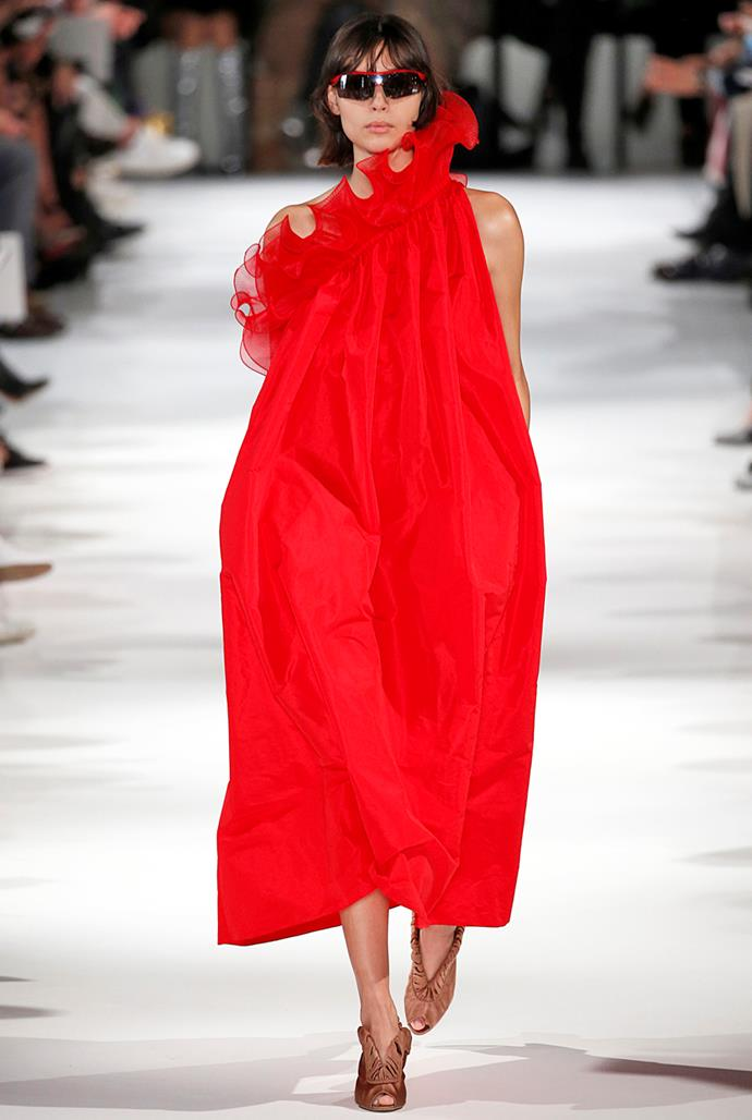 **Bright Red** <br><br> Stella McCartney spring summer '18