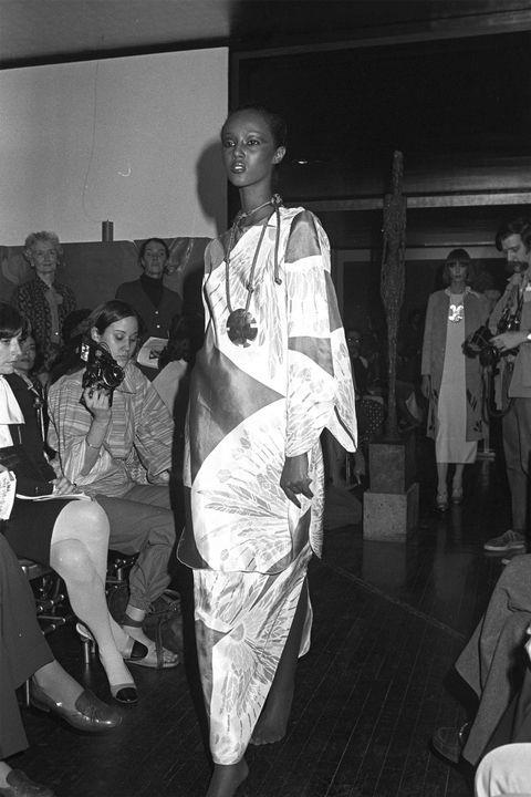 **IMAN** <BR><BR> Mary McFadden autumn '76