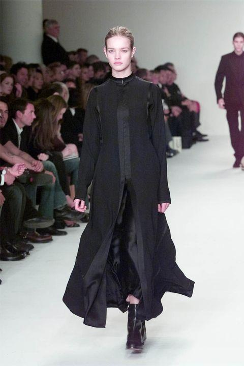 **NATALIA VODIANOVA** <BR><BR> Calvin Klein autumn '02