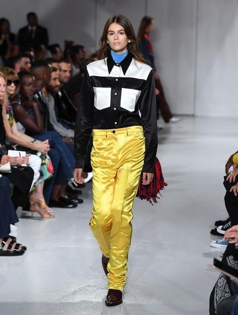 **KAIA GERBER** <BR><BR> Calvin Klein spring '17