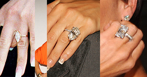 A Look At All 13 Of Victoria Beckhams Engagement Rings Harpers