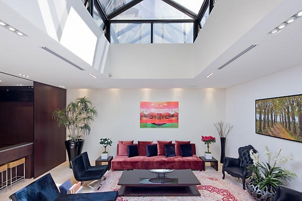 One of the living areas.   Image: Trulia