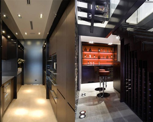 The butler's pantry and wine cellar.   Image: Trulia