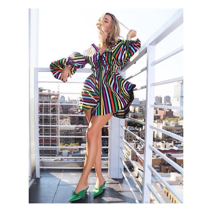 """**Caroline Constas** <br><br> Boutique label **Caroline Constas**'s frilly, no-holds-barred dresses make the perfect summer style statement for the bold, eclectic woman. Veer away if subtlety isn't your strong suit.  <br><br> *Dress: $595, [Net-a-Porter](https://www.net-a-porter.com/us/en/product/853416/Caroline_Constas/olympia-cotton-jacquard-mini-dress