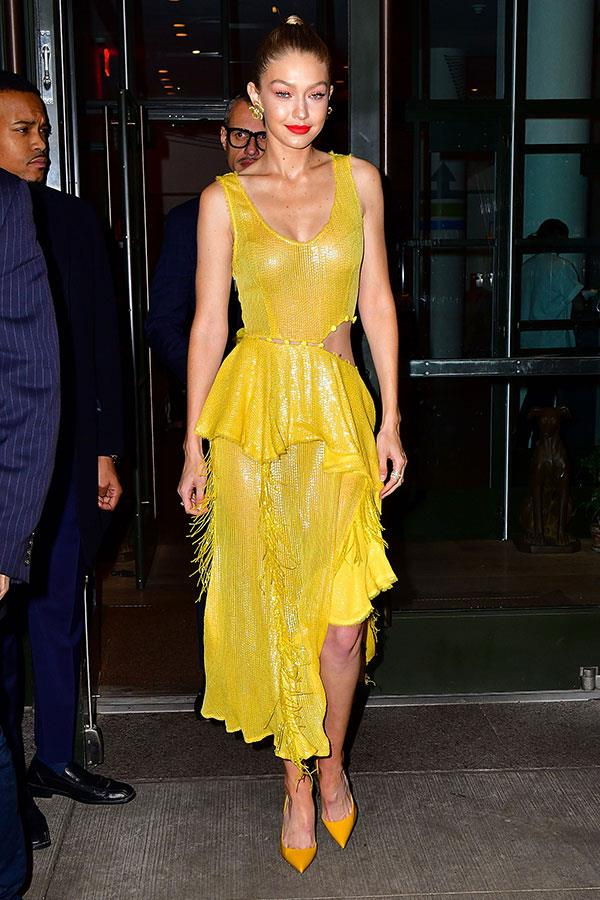 Wearing Prabal Gurung in New York City.