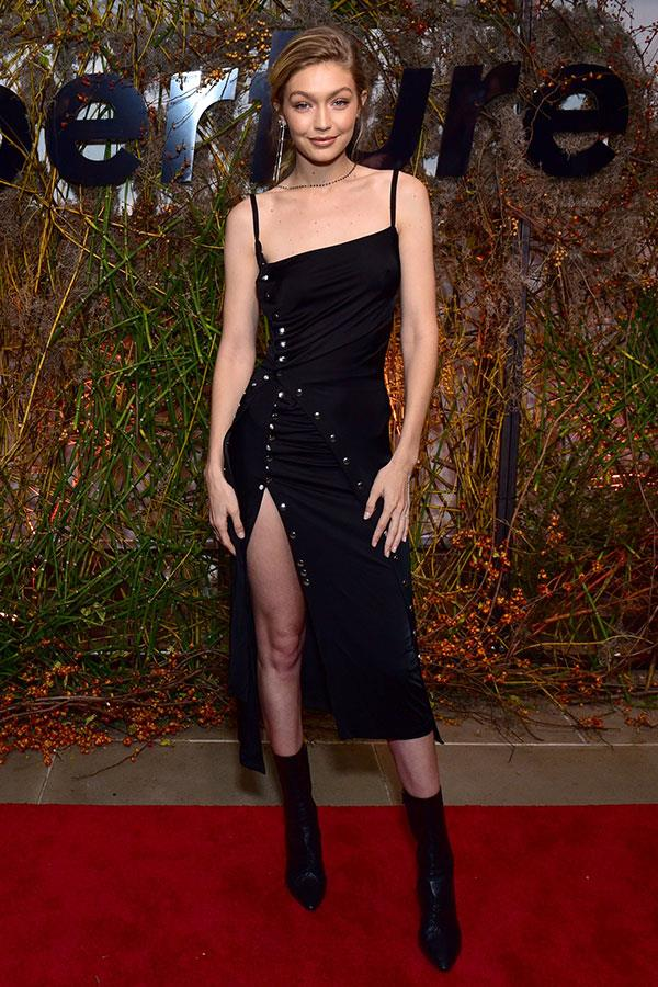 Wearing Paco Rabanne at the Aperture 'Elements of Style' Gala.