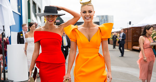 Yellow dress melbourne cup results